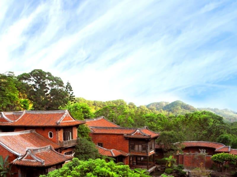 閔南式建築と江南庭園