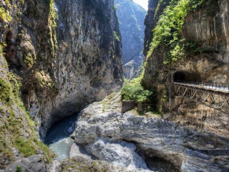 太魯閣国家公園の大峡谷