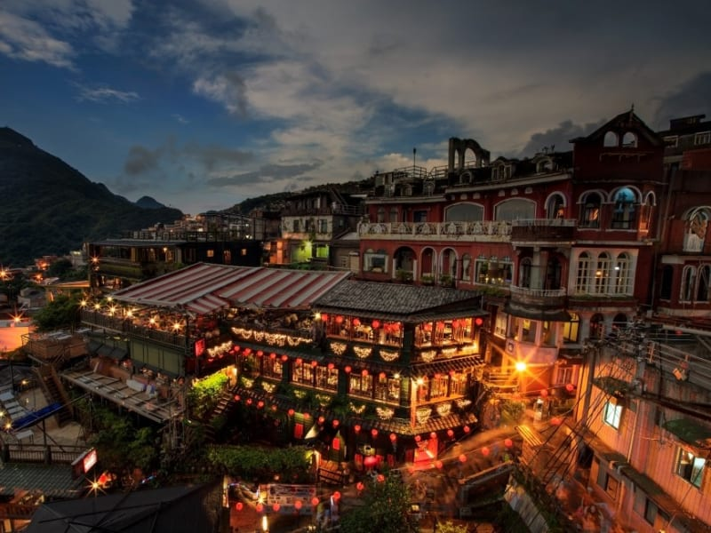 Day3: Night stroll at Juifen Old Street