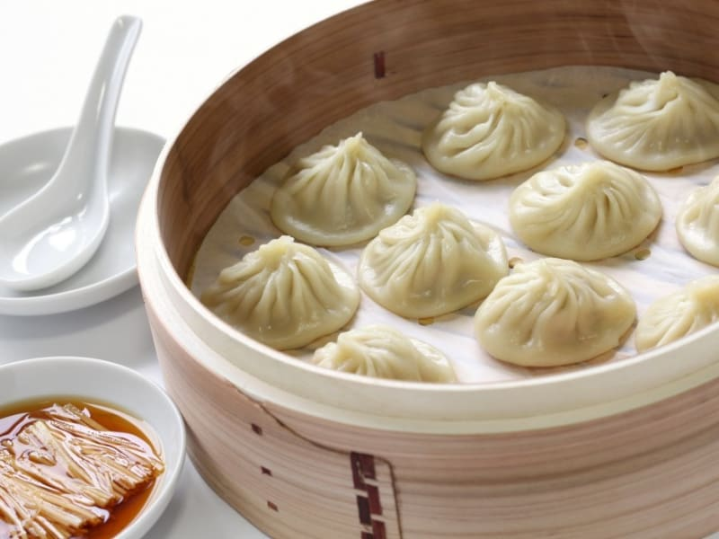 Taste Soup Dumplings at Din Tai Feng