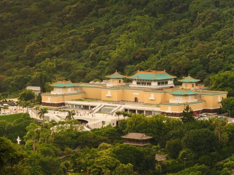 国立故宮博物院(グォリィグゥゴォンボォウゥユェン)