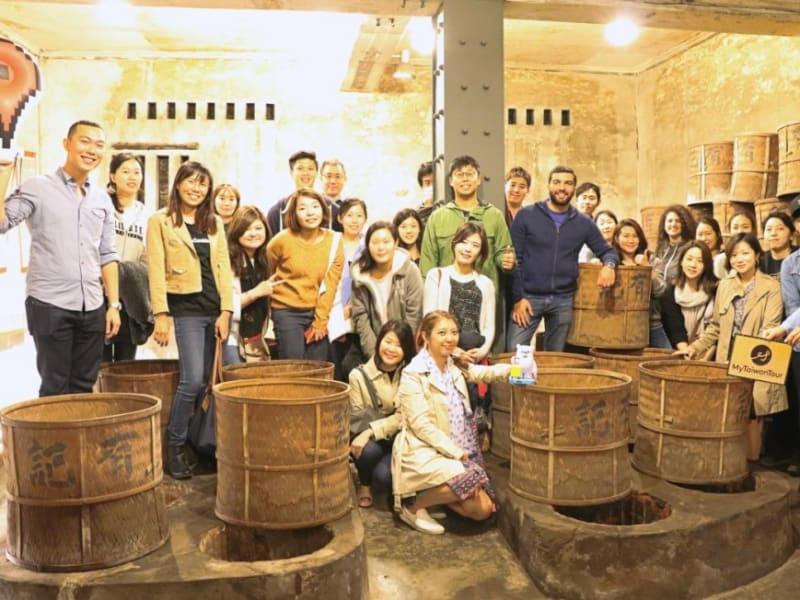 家族経営の製茶工場を見学