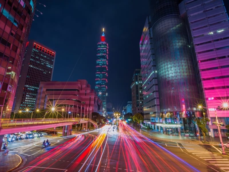 台湾で一番高いランドマーク周辺をぶらぶら