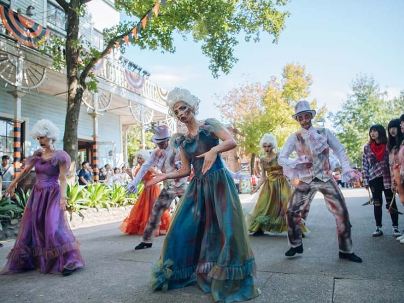 Leofoo village halloween parade