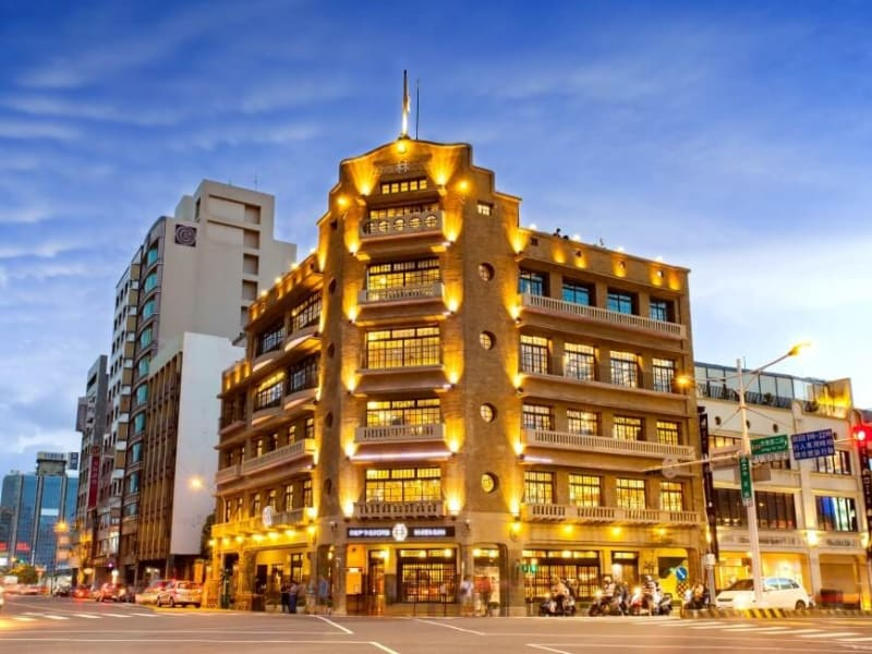 Immerse yourself in Tainan's past and present with a history lesson about Tainan's Lin Department Store (Hayashi Department Store)