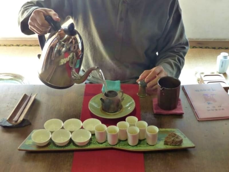 Participate in an authentic tea ceremony in a local tea house
