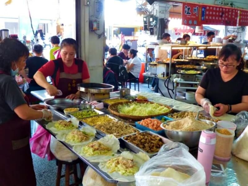 Explore a traditional, Taiwanese market on this authentic food tour