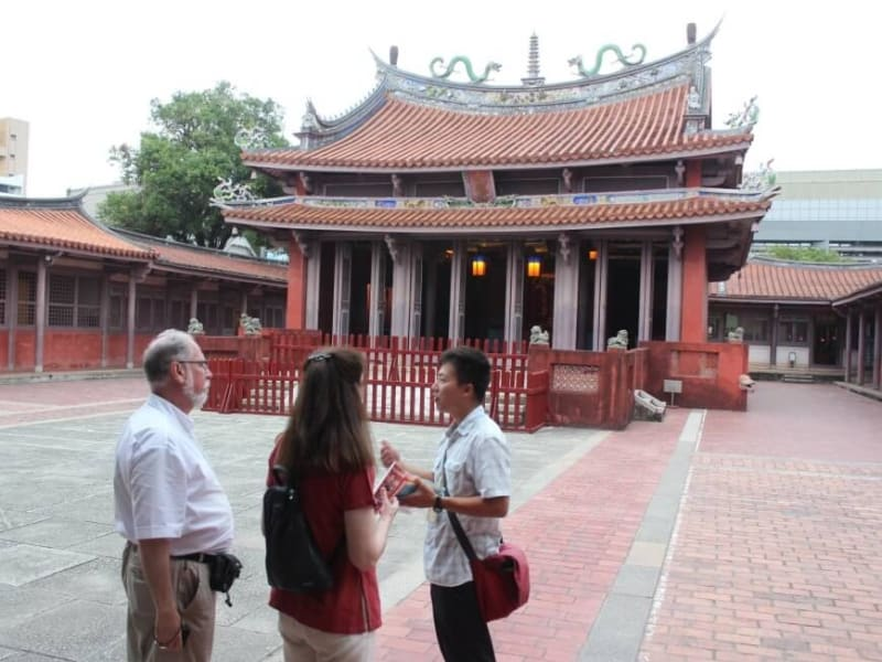 Visit the oldest Confucian Temple in Taiwan and gain a deeper understanding of Confucianism through your well-versed tour guide.