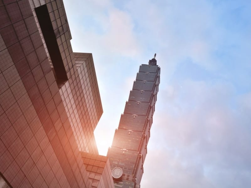 Marvel at Taipei 101, one of the world's tallest buildings