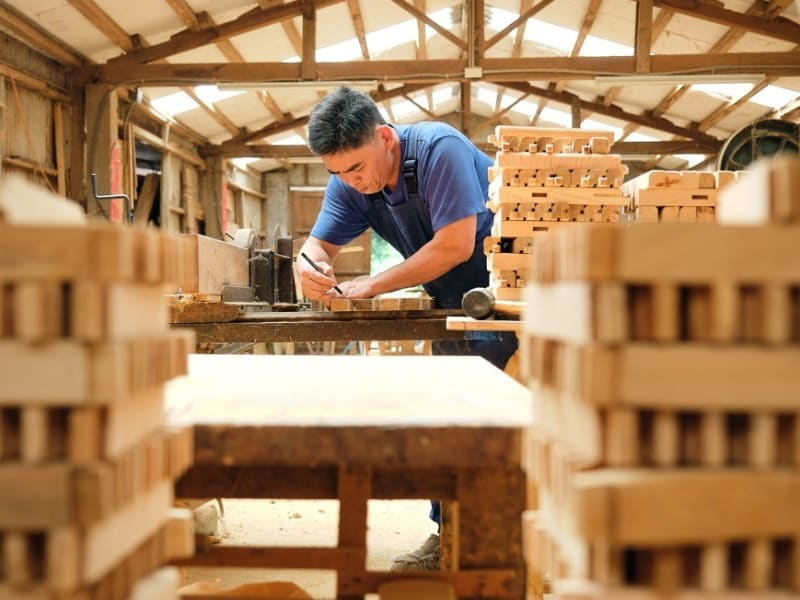 Learn about woodworking from Daxi's local woodmasters