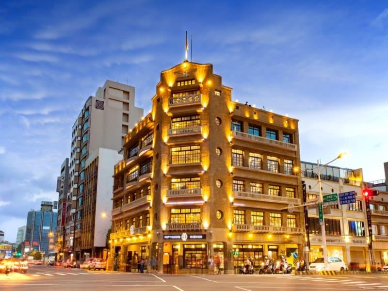 日本統治時代の台南:林百貨