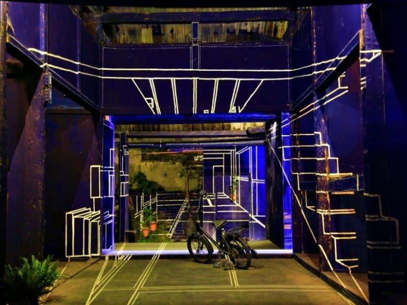 台南の芸術とクリエイティブエリア:藍晒図文創園区 ガイドによる園内案内と自由行動