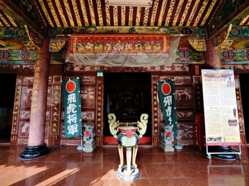 台湾に唯一現存する日本軍人を祀った飛虎将軍廟参拝