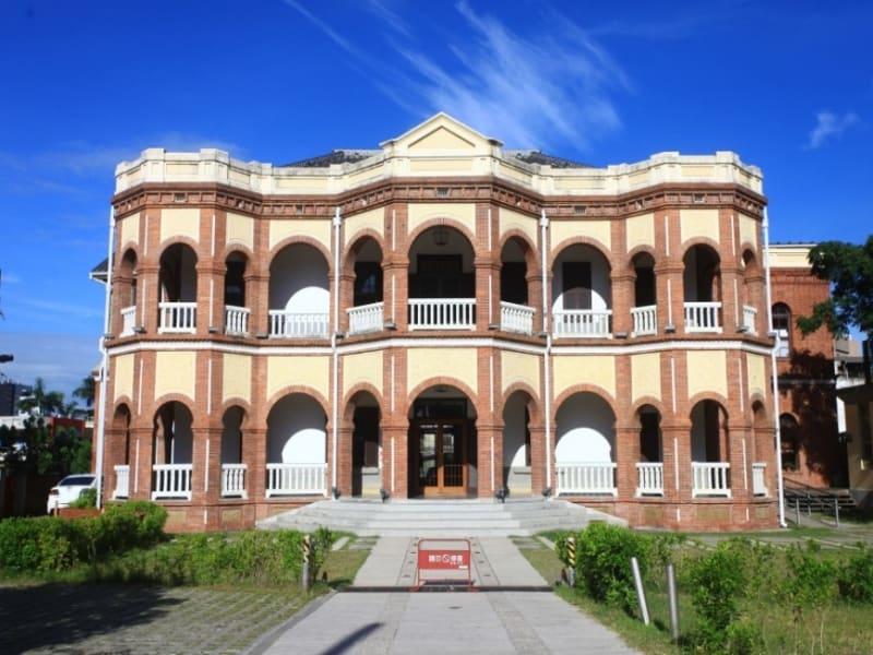 日本時代の旧台南地方法院見学
