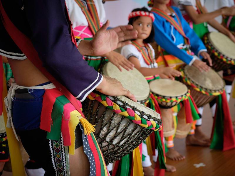 PawPaw Drum Performance at Pisirian tribe