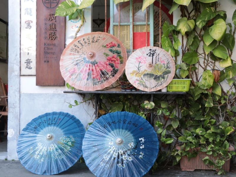 Check out the traditional oil-paper umbrella and learn its significance in Hakka culture