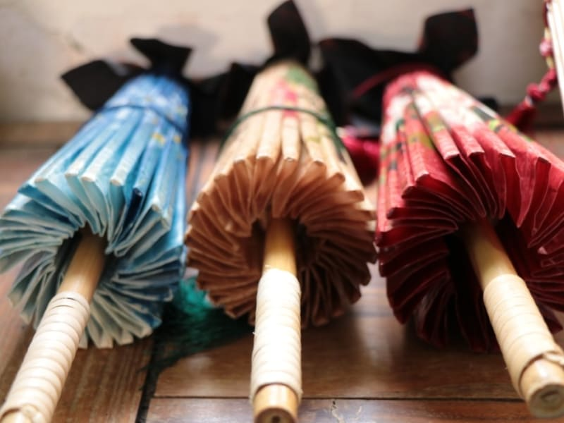 Check out traditional oil-paper umbrella and learn its significance in Hakka culture
