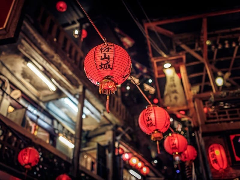 Jiufen is said to be the inspiration for the Miyazaki classic Spirited Away.