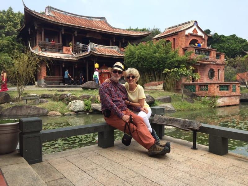 林安泰古厝(台湾式建築と美しい庭園)を散策