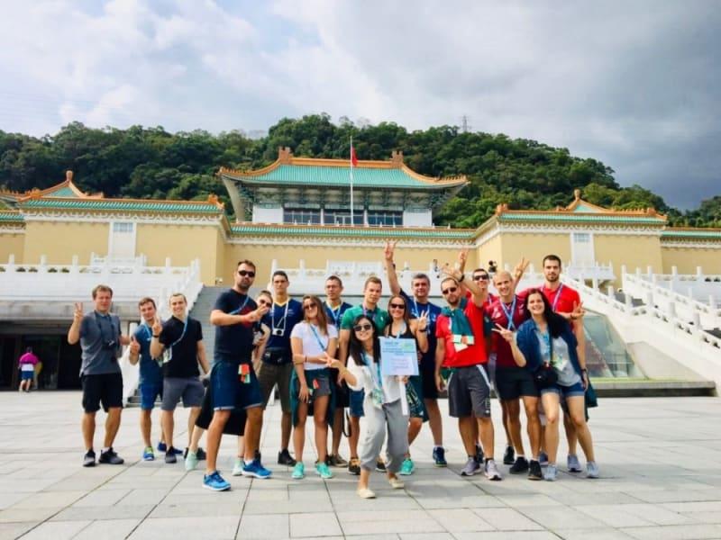 台北故宮院博物館を訪問
