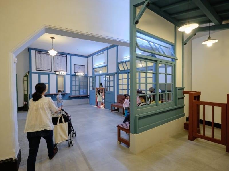 国立台湾博物館の鐵道部パークを見学