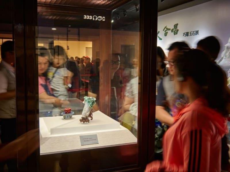 故宮院博物館で悠久の歴史を持つ中華の文物に触れる