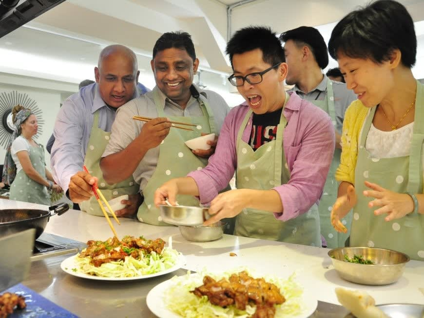 Learn how to prepare three typical Taiwanese dishes from a local cooking instructor