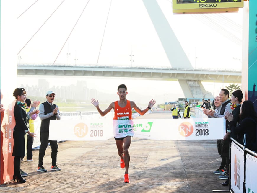 Run alongside 12,000+ other runners in the 2019 EVA AIR Marathon