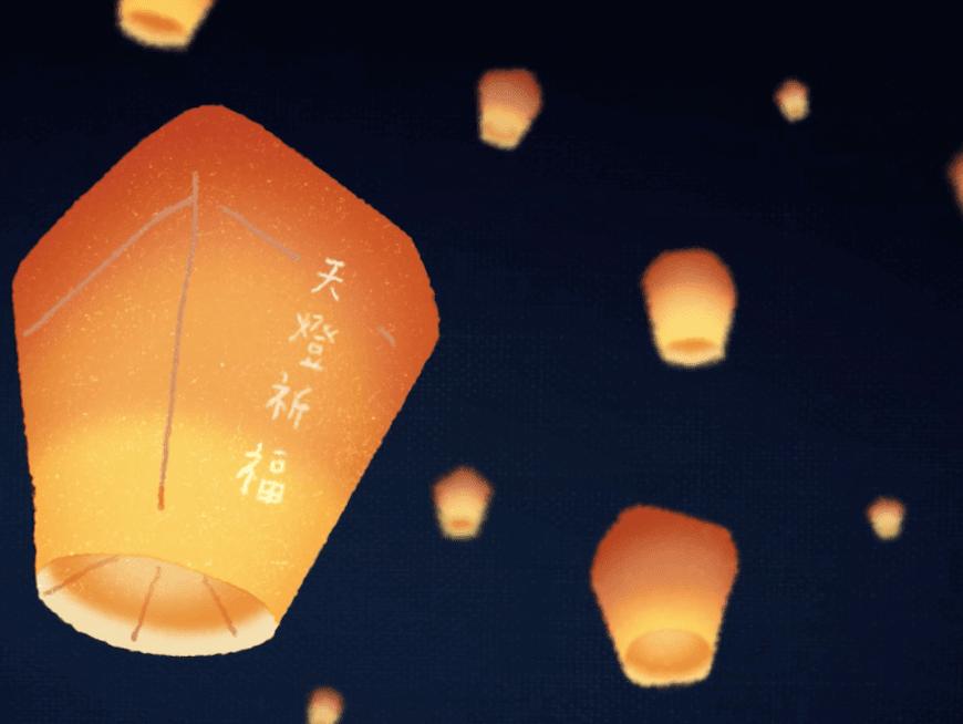 Amazing eco-friendly sky lanterns