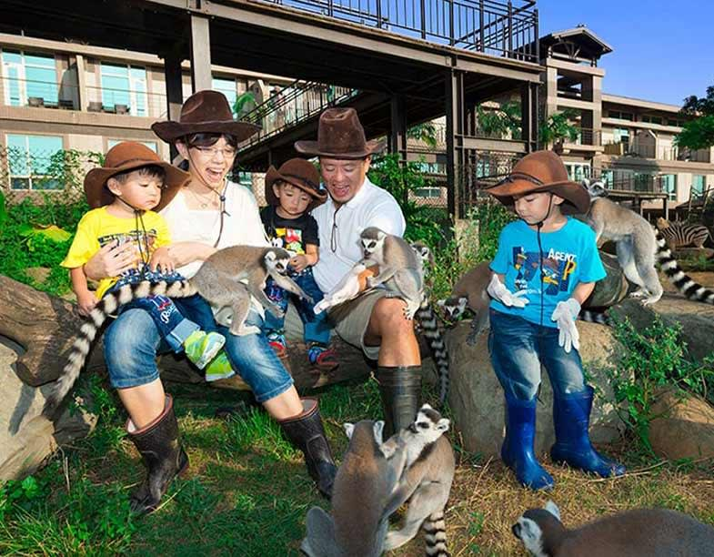 New Animal Safari tour at Asia's first eco-resort!