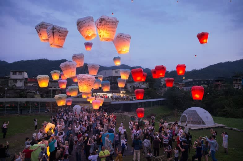 WISH 2019 Sustainable Sky Lantern Festival