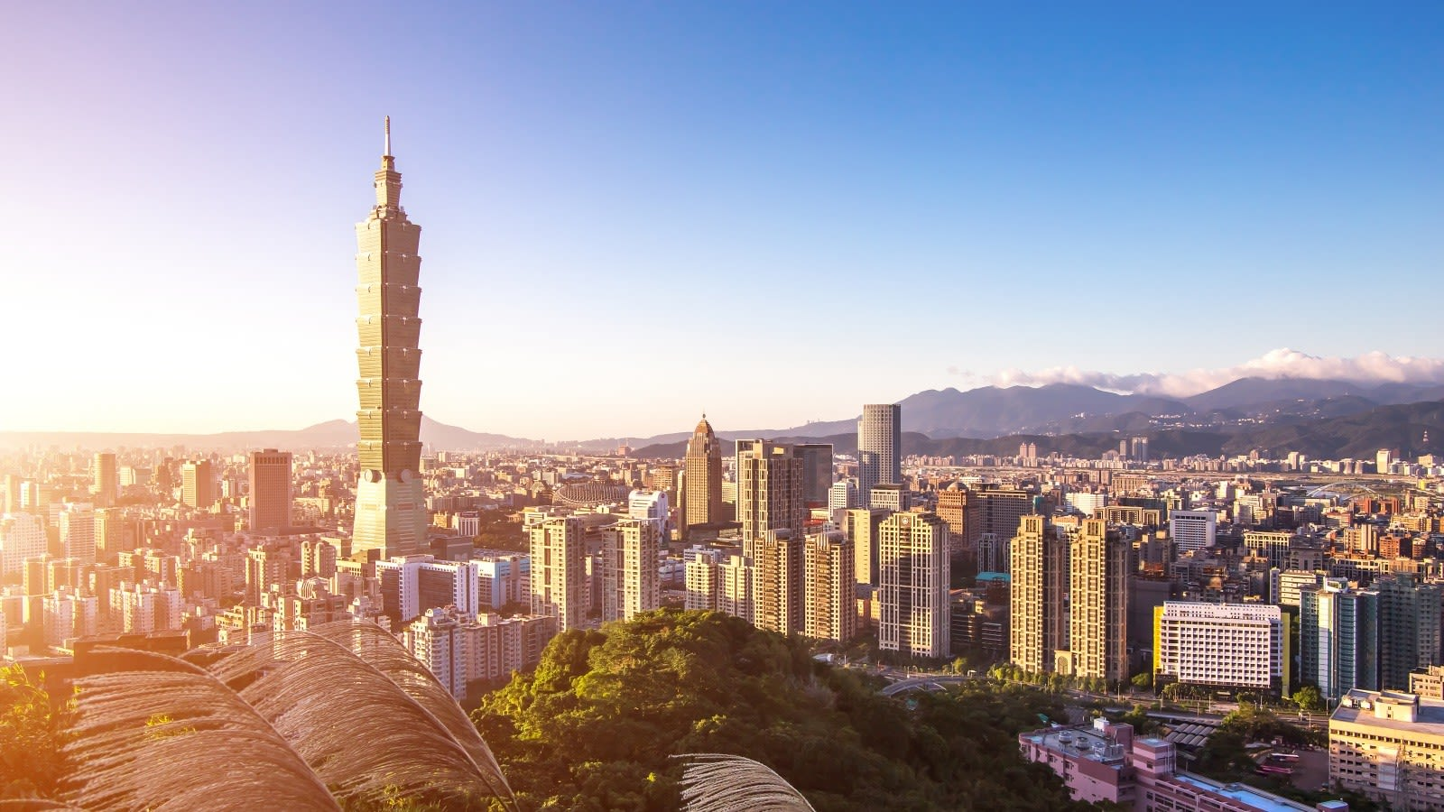 View Taipei 101, one of the world's tallest buildings and Taipei's landmark skyscraper