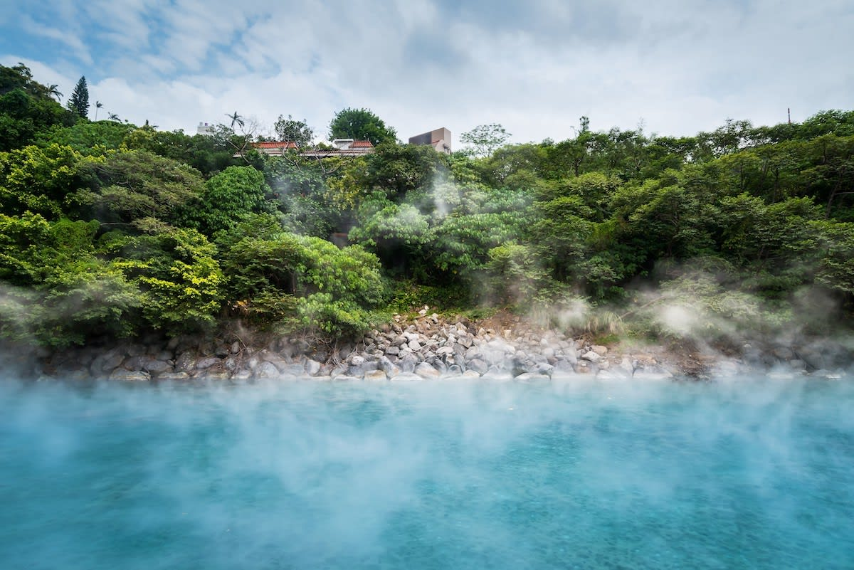 Explore Beitou, home to Taiwan's famous hot springs
