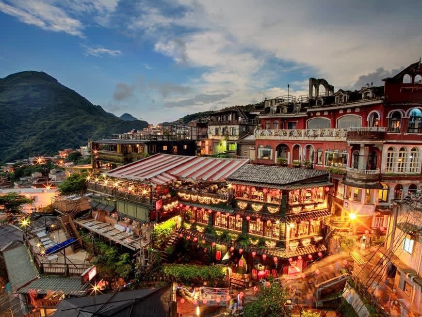 Be spirited away in the magical village of Jiufen