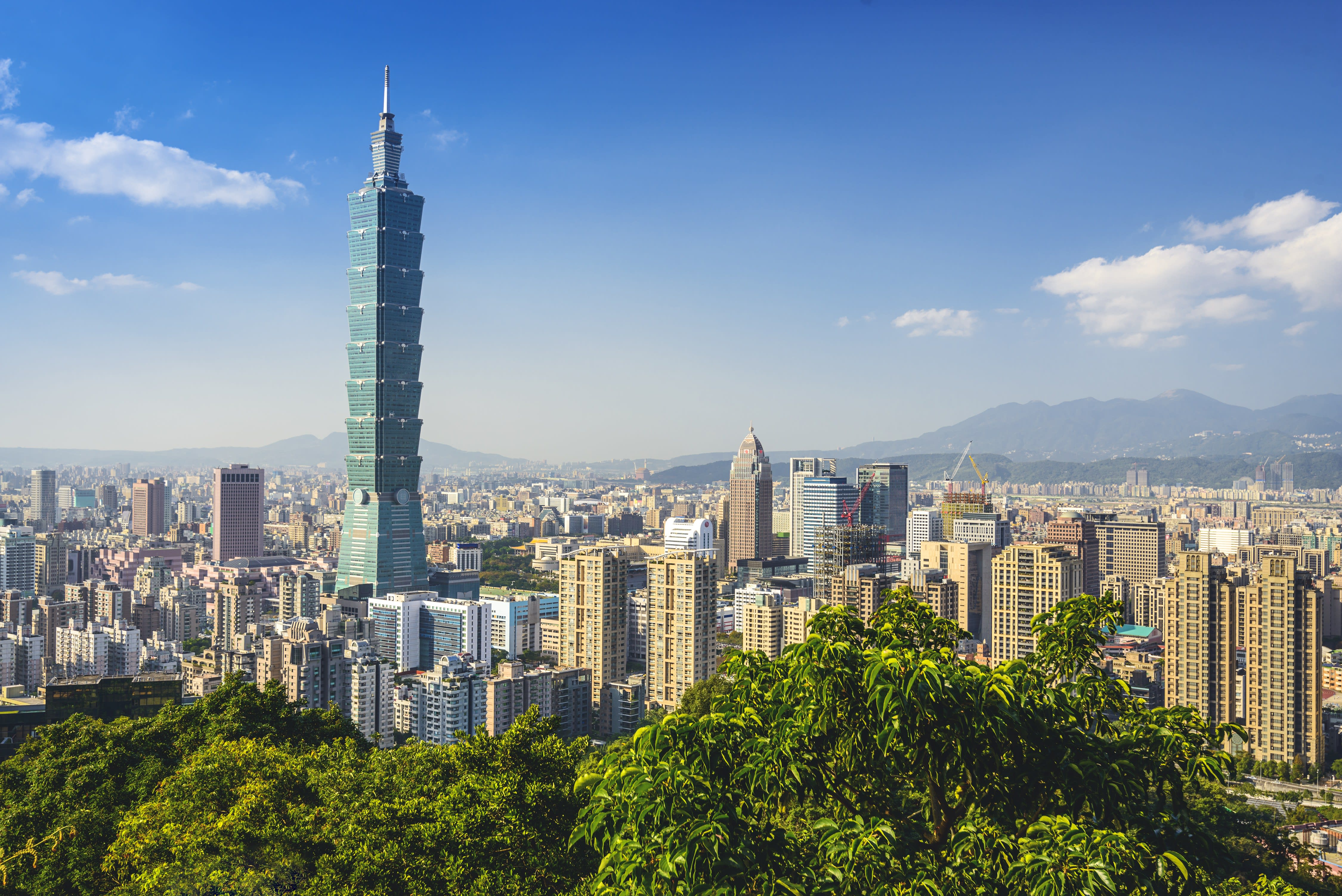 Discover the capital's landmarks like Taipei 101, one of the world's largest buildings