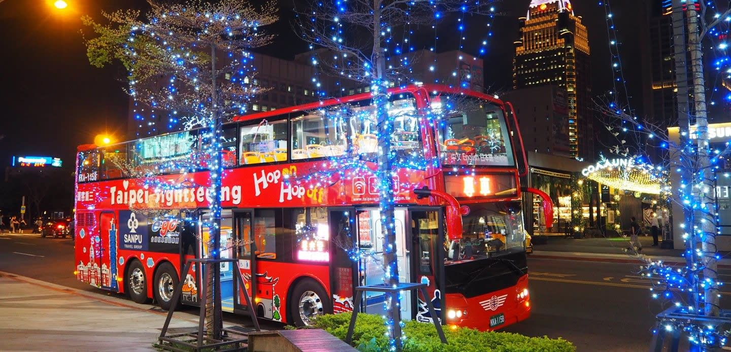 Taipei Hop-On & Hop-off Bus 4HR Pass