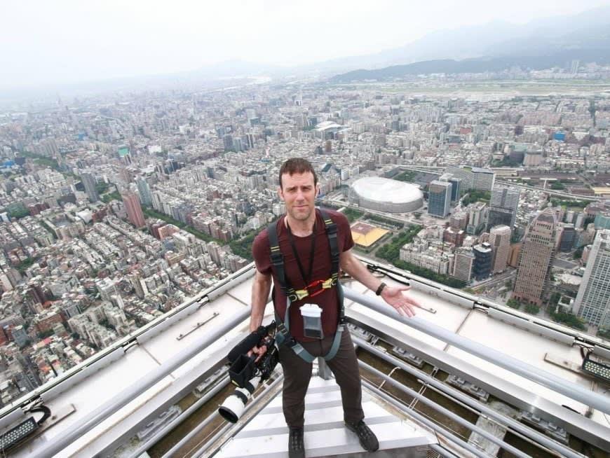 海抜460mの地点から眺める衝撃的な視覚体験