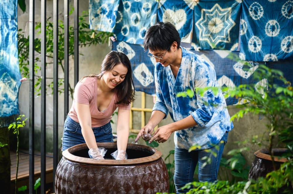 【桃園】三合院紅龜粿手作,手作藍染學篆刻之兩日遊