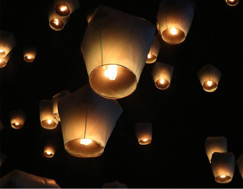 Limited Edition: Feb 8 Cultural Sky Lantern Festival
