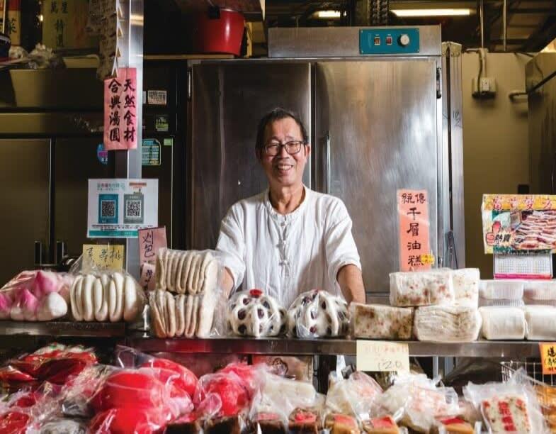 点心の老舗店上海合興糕糰 70年続く伝統の味