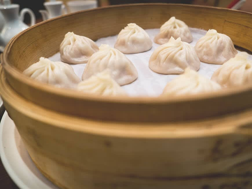 Dine at the world famous Michelin-starred Din Tai Fung restaurant