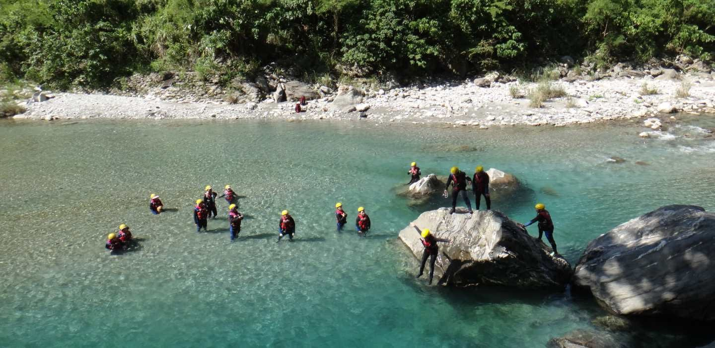 2-day River Tracing Adventure in Hualien Private Tour