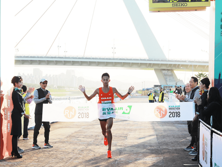 Run alongside 12,000+ other runners in the 2019 EVA AIR Marathon