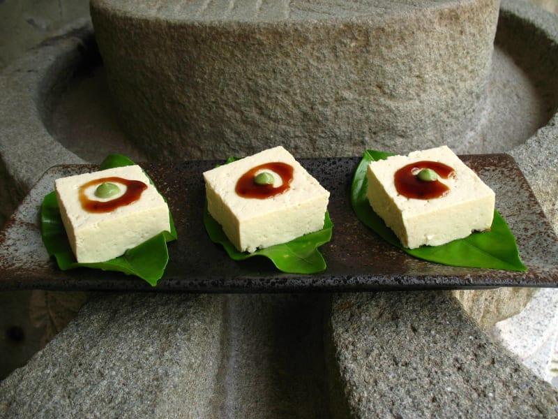 泥火山豆腐製作