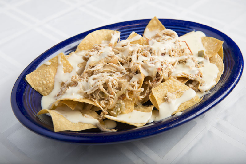 how to make chicken nachos with white cheese