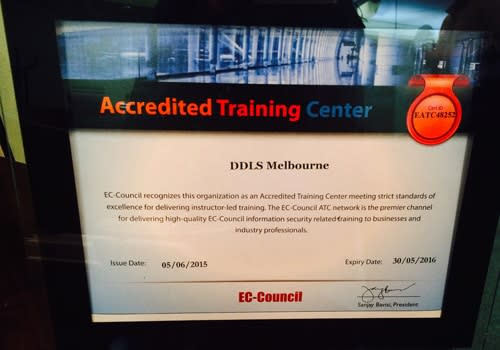 DDLS Melbourne - EC-Council Accredited Training Center