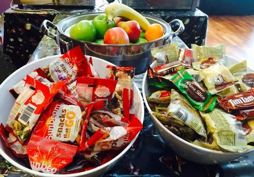 DDLS Melbourne - snacks supplied