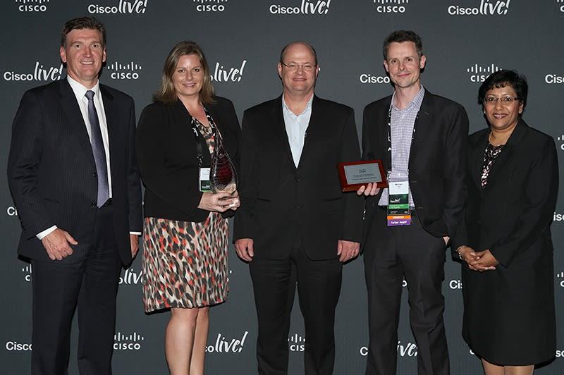 Cisco 2014 Award Photo
