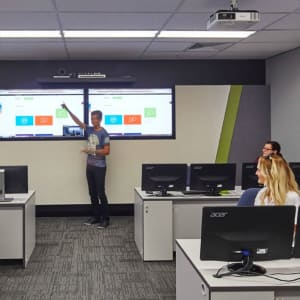 DDLS Sydney - Training Room with Telepresence capability