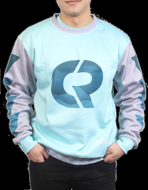 bfbeed5fb Custom Printed Crewneck Sweatshirts - Coastal Reign